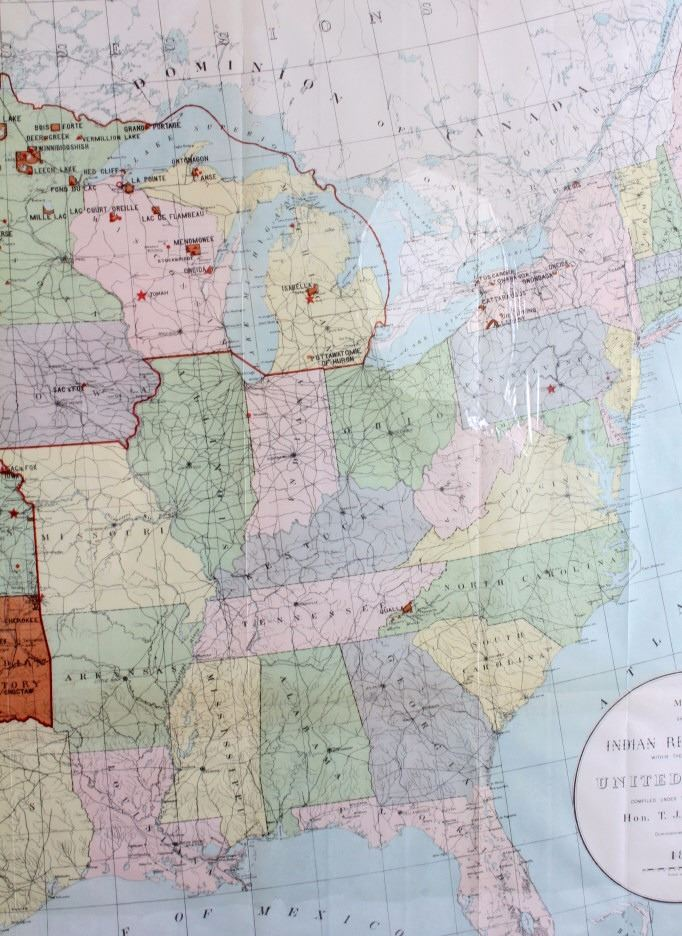 Indian Reservation Map Of The United States - Map of us indian reservations