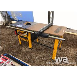 "DEWALT DW746 10"" TABLE SAW"