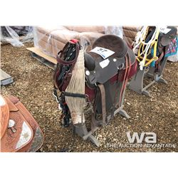 WINTEC WESTERN SADDLE & BRIDLE