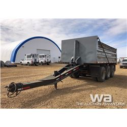 2007 LOAD LINE TRIDEM GRAVEL PUP TRAILER