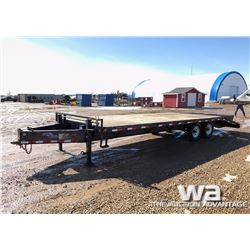 2011 LOAD TRAIL T/A FLATDECK TRAILER
