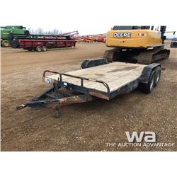 2002 T/A 16 FT. TILT DECK TRAILER