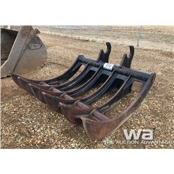 "73"" WBM BRUSH RAKE CAT"