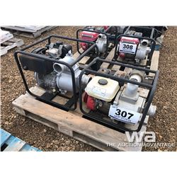 "(2) 3"" WATER PUMPS"