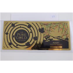 .999 GOLD INVESTORS NOTE, CANADIAN MINT, MAPLE LEAF