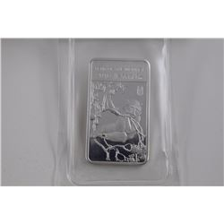 2016 .999 FINE SILVER YEAR OF THE MONKEY BAR. FACTORY SEALED TAX EXEMPT