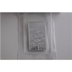 2012 .999 FINE SILVER YEAR OF THE DRAGON BAR. FACTORY SEALED TAX EXEMPT