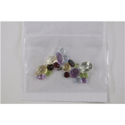 APPROX 30CT ASSORTED LOOSE GEMSTONES, VARIOUS COLORS & CUTS