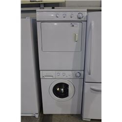 FRIGIDAIRE STACKING WASHER AND DRYER SET