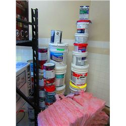 ASSORTMENT OF PAINT AND INSULATION