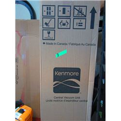 KENMORE CENTRAL VACUUM UNIT AND ACCESSORY KIT