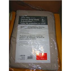 CANVAS DROP CLOTH (NEW) - CHOICE