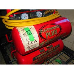 KING CANADA DUAL TANK AIR COMPRESSOR & HOSE