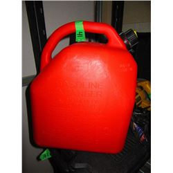 PLASTIC GAS CAN - CHOICE