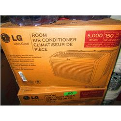 LG 5000 BTU WINDOW AIR CONDITIONER - CHOICE