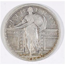 1917-S T-1 STANDING LIBERTY QUARTER FINE-VF  NICE