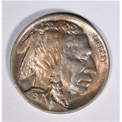 1917 BUFFALO NICKEL, CHOICE BU
