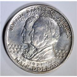 1921 ALABAMA COMMEMORATIVE HALF DOLLAR, CHOICE BU