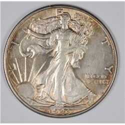 1943 WALKING LIBERTY HALF CH BU