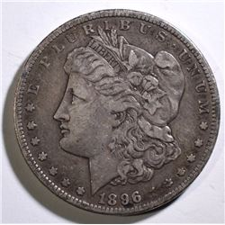 1896-S MORGAN SILVER DOLLAR - VF - KEY DATE
