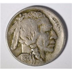 1920-D BUFFALO NICKEL  XF