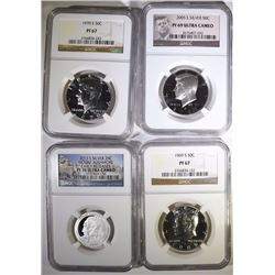 NGC GRADED LOT: SEE DESCRIPTION