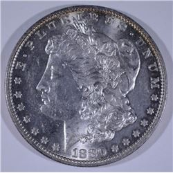 1880-O MORGAN SILVER DOLLAR CHOICE BU - BLAST WHITE