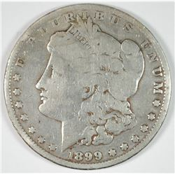 1899 MORGAN DOLLAR VG CLEANED
