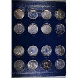 JFK HALF DOLLAR SET; 1964 - 1979 PLUS 20 MORE - COMPLETE thru 1978