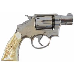 Smith & Wesson .38 Snub with Steer Head Grips Serial no. 936025 .38 special. snub in very good worki