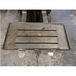 "Steel 3 Slot T-Slot Milling Table, 27.5"" x 17"" x 1.5"""