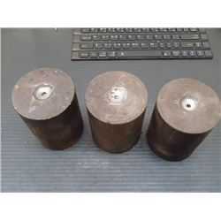 "Steel Machine Stands, 3"" x 3"" x 4"""