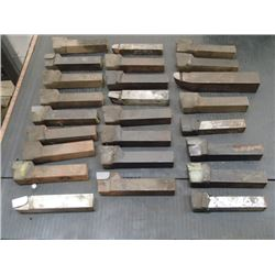 Lot of Carbide Tipped Brazed Tool Bits