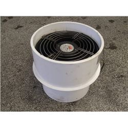 "Dayton 665 CFM AC Axial Fan, With 12"" x 10"" Casing"