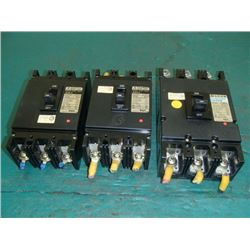 Fuji Circuit Breakers, 20A, 50A, 125A