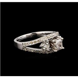 14KT White Gold 1.61 ctw Diamond Ring
