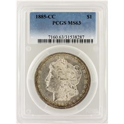 1885-CC PCGS MS63 Morgan Silver Dollar