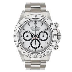 Rolex Stainless Steel Daytona Cosmograph Men's Wristwatch