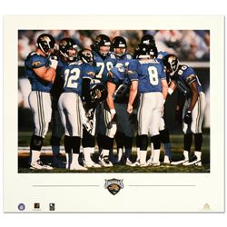 The Huddle VII (Jaguars) by Smith, Daniel M.