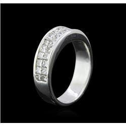 1.38 ctw Diamond Ring - 18KT White Gold