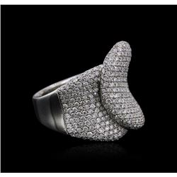 14KT White Gold 1.32 ctw Diamond Ring