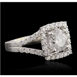 18KT White Gold 2.55 ctw Diamond Ring