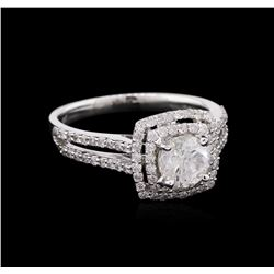 1.50 ctw Diamond Ring - 18KT White Gold