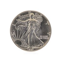 1987 American Silver Eagle Dollar Coin