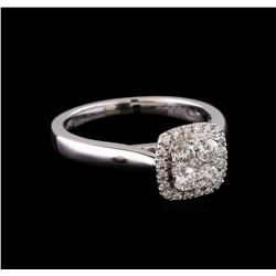 0.53 ctw Diamond Ring - 14KT White Gold