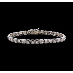 2.92 ctw Diamond Tennis Bracelet - 14KT White Gold