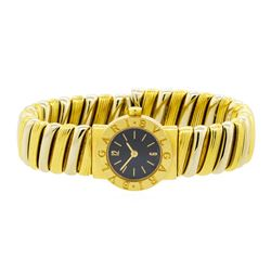 Bulgari 18KT Yellow Gold Tubogas Ladies Watch