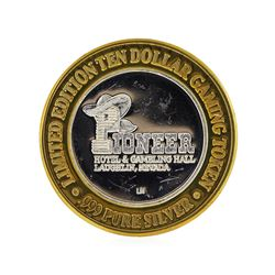 Limited Edition $10 Las Vegas .999 Silver Gaming Token