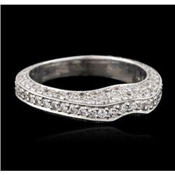 18KT White Gold 0.39 ctw Diamond Ring