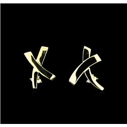 Tiffany & Co. Earrings - 18KT Yellow Gold